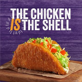 You ain't ever seen a taco shell like this before... the chicken IS the shell 🌮🤯 Made with 100% Aussie chicken breast and available in restaurant from today for a limited time only!