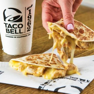 It may be our mini chicken quesadilla but this is a real crowd pleaser!