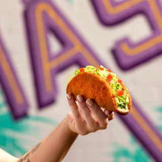 Shell yeah we did! 🌮🤯 With the Naked Chicken Taco, the chicken IS the shell! Made with 100% Aussie chicken breast, seasoned and fried to perfection… you definitely want to add a trip to Taco Bell to todays itinerary 🤤 #nakedchickentaco #tacobellaus #thechickenistheshell #shellyeah #tacobell #weekendeats #hungry